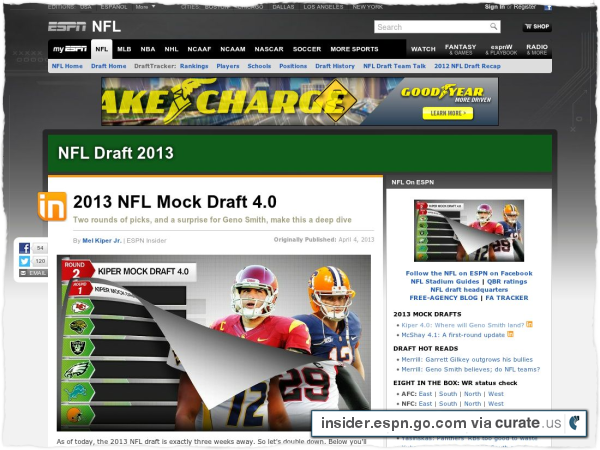 Clipped from http://insider.espn.go.com/nfl/draft2013/story/_/id/9123269/2013-nfl-draft-mel-kiper-latest-mock-draft-goes-two-full-rounds