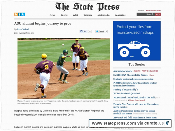 Clipped from http://www.statepress.com/2013/06/25/asu-alumni-begins-journey-to-pros/
