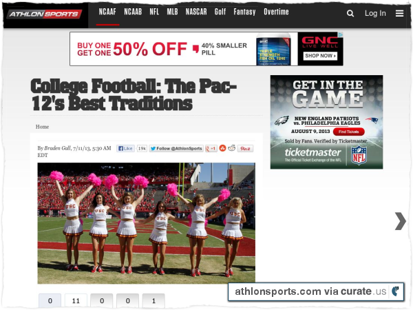 Clipped from http://athlonsports.com/college-football/college-football-pac-12s-best-traditions