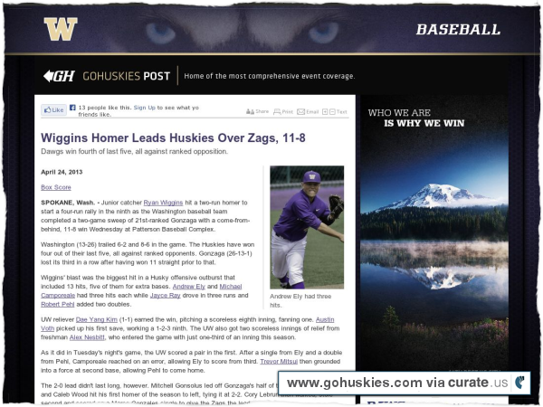Clipped from http://www.gohuskies.com/sports/m-basebl/recaps/042413aab.html