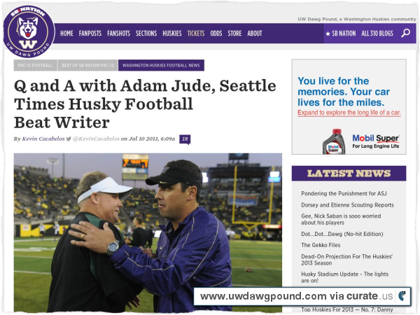 Clipped from http://www.uwdawgpound.com/2013/7/10/4507246/adam-jude-seattle-times