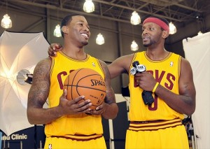 Alonzo Gee and C.J. Miles