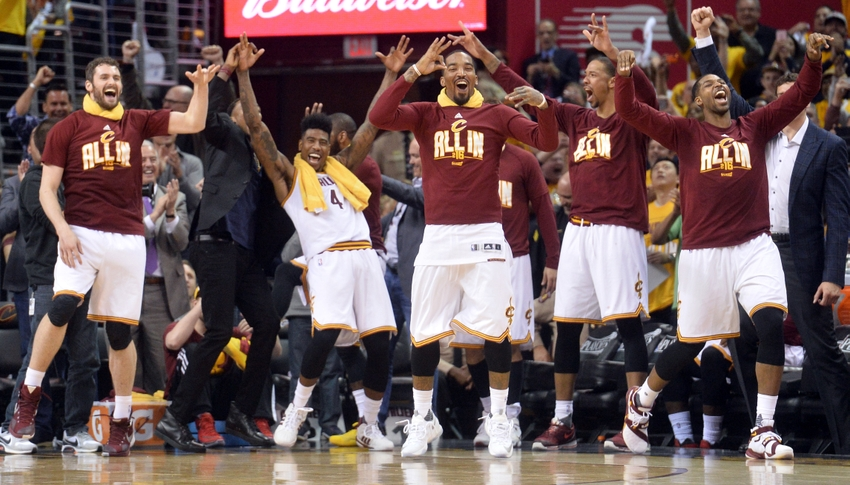 J.r.-smith-kevin-love-iman-shumpert-tristan-thompson-nba-playoffs-atlanta-hawks-cleveland-cavaliers