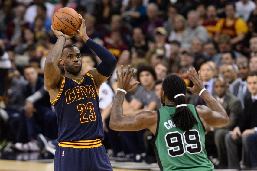 designer fashion e9a5f 82ef4 Feb 5, 2016  Cleveland, OH, USA  Cleveland Cavaliers forward LeBron James