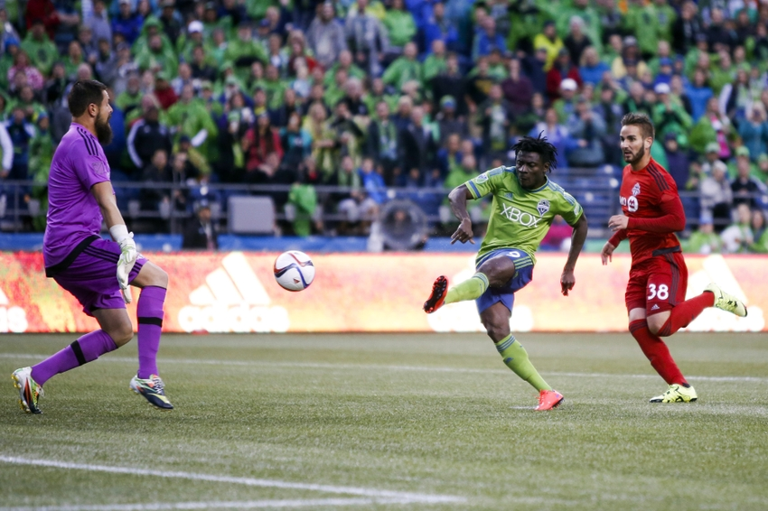Match Preview - Whitecaps Vs Sounders Obafemi Martins Sounders Fc