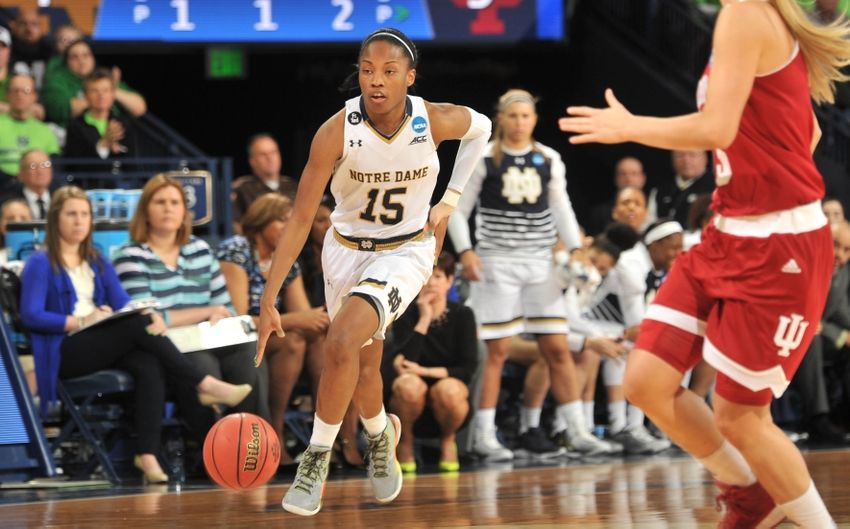 Notre Dame Women Advance To Basketball Sweet 16