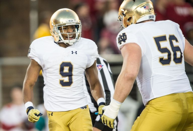 stanford notre dame score ncaa championship football game