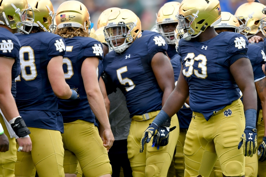 football schedule tv who won the notre dame football game today