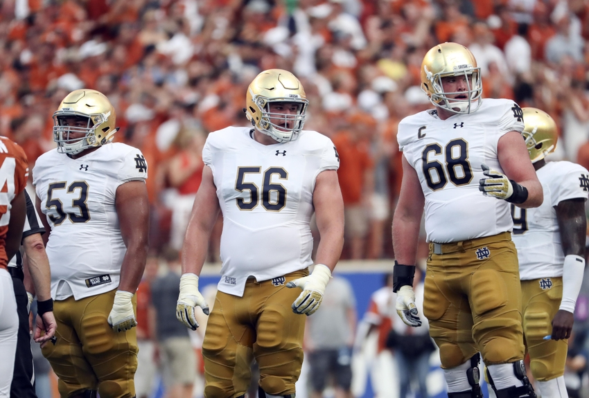 Notre Dame football: In defense of Sam Mustipher and the ...