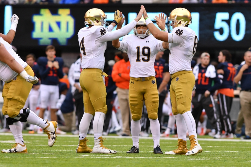 Notre Dame football: Wait, the Irish are favored over ...
