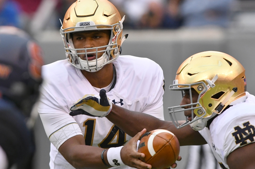 Notre Dame football: Grades from turnaround win against ...