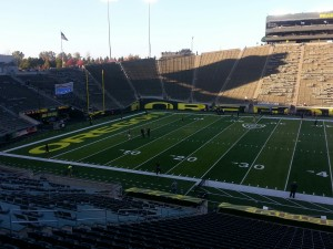 Oregon Takes on Utah at 1pm from Autzen Stadium.