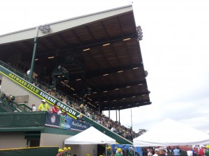 Hayward Field During the 2012 US Track and Field Olympic Trials