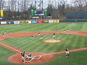 Oregon and Cal State Fullerton at PK Park. KPNWSports