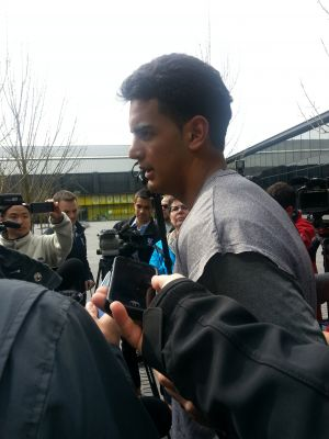 Oregon Quarterback Marcus Mariota Following Day 1 of Spring Practice//KPNWSports