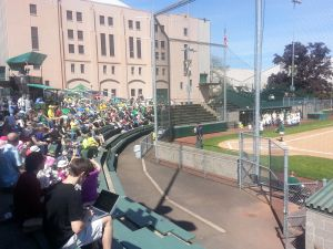 Oregon hosted Utah Valley in a Doubleheader on Tuesday April 29th//KPNWSports