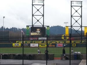 PK Park will host Arizona following the Spring Football Game. May 3rd, 2014 KPNWSports