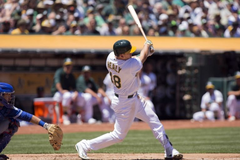 Ryon-healy-mlb-toronto-blue-jays-oakland-athletics-768x511