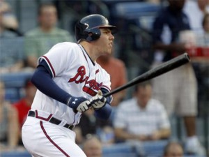 Freeman hit Consistently for the Braves