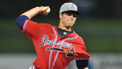 Jason Hursh in 2013 (Photo Credit: Kyle Hess/Rome Braves)