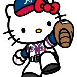 Hello Kitty Atlanta Braves