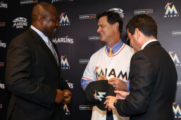 David-samson-michael-hill-don-mattingly-mlb-miami-marlins-press-conference-590x900