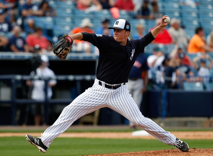 The Atlanta Braves have signed former Yankee Jacob Lindgren to major league contract