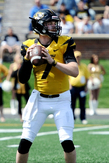 Maty Mauk will be one of the most recognizable names in the Southeastern Conference in 2014. Mandatory Credit: Dak Dillon-USA TODAY Sports