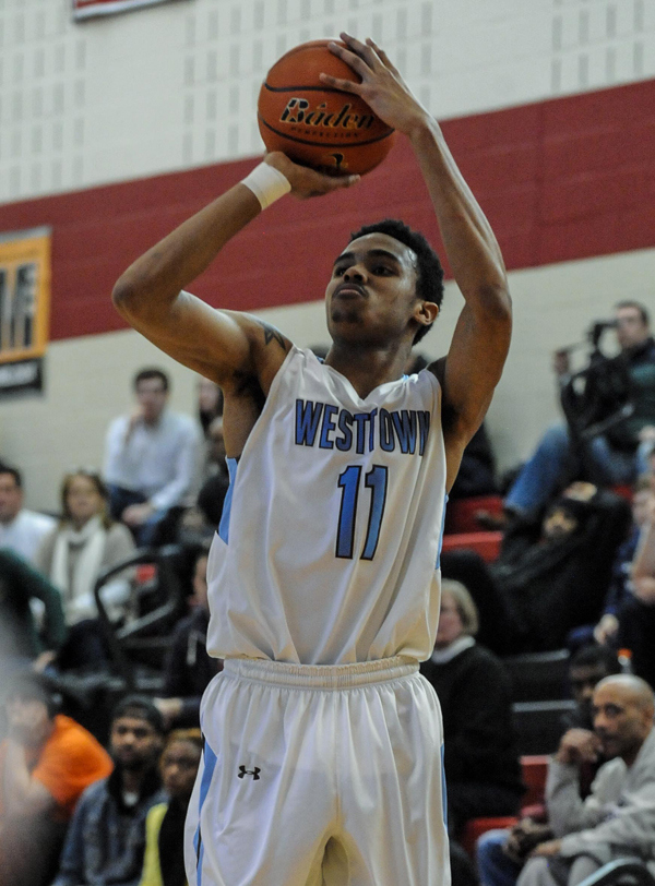 Westtown guard Jared Nickens continues to impress during his senior season. (Mandatory Credit: Tug Haines/City of Basketball Love)
