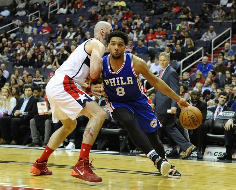 Jahlil-okafor-marcin-gortat-nba-philadelphia-76ers-washington-wizards-768x618