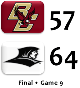 Providence beats BC basketball
