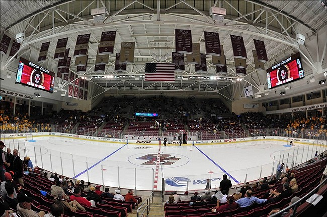 NCAA Hockey: Denver at Boston College