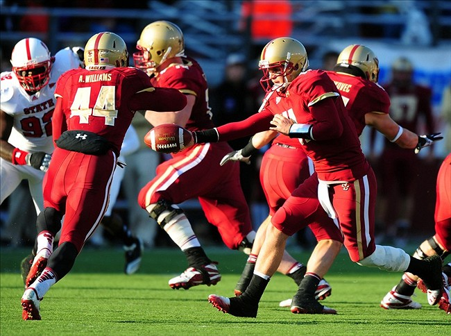 NCAA Football: NC State at Boston College