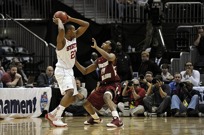 NCAA Basketball: ACC Tournament-Boston College vs North Carolina State