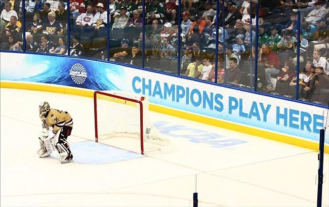 NCAA Hockey: Frozen Four-Ferris State vs Boston College