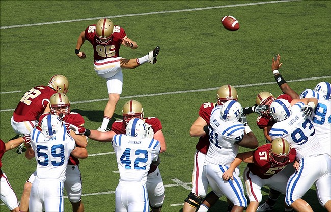 NCAA Football: Duke at Boston College