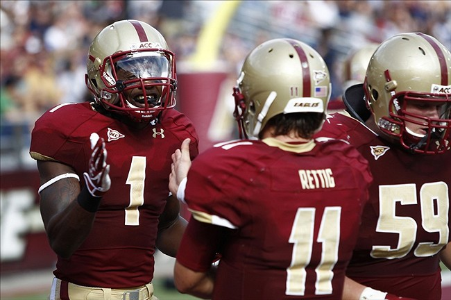 NCAA Football: Massachusetts at Boston College