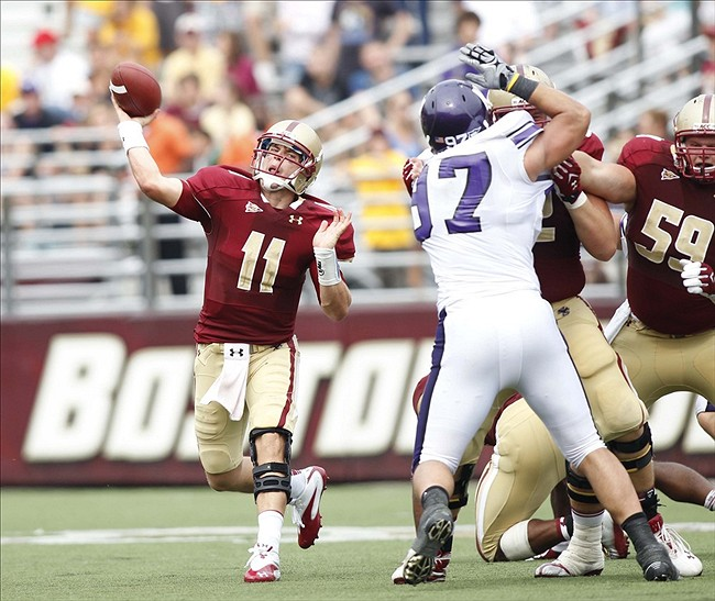 NCAA Football: Northwestern at Boston College