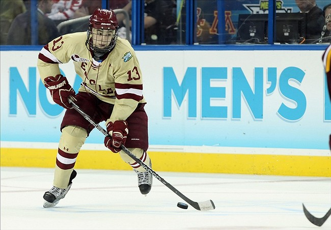 NCAA Hockey: Frozen Four-Boston College vs Minnesota