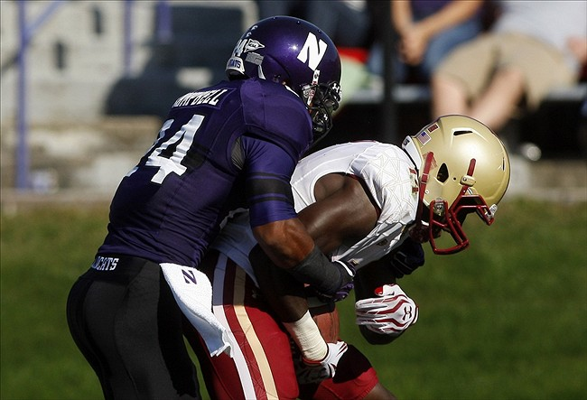 NCAA Football: Boston College at Northwestern
