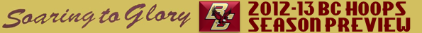 BC Basketball 2012-13 Preview