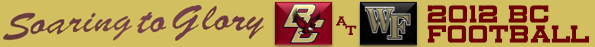 BC-Wake Forest Football