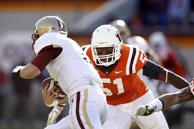 NCAA Football: Boston College at Virginia Tech