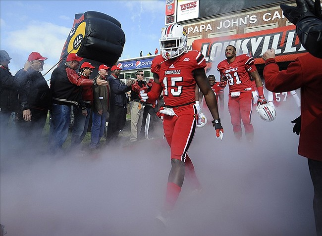 NCAA Football: Connecticut at Louisville