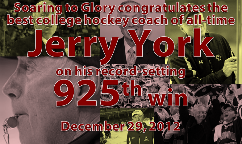 Jerry York 925 Wins