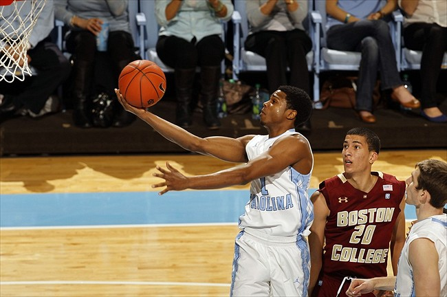 NCAA Basketball: Boston College at North Carolina