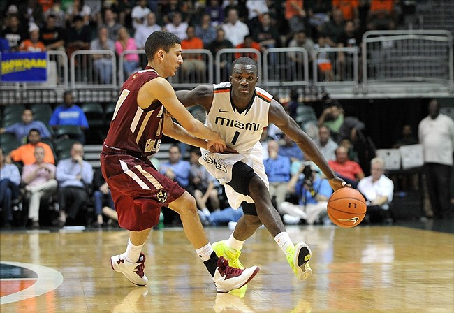 NCAA Basketball: Boston College at Miami