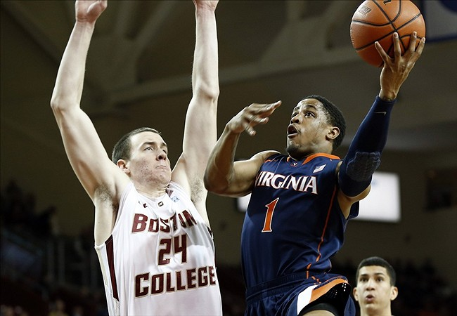 NCAA Basketball: Virginia at Boston College