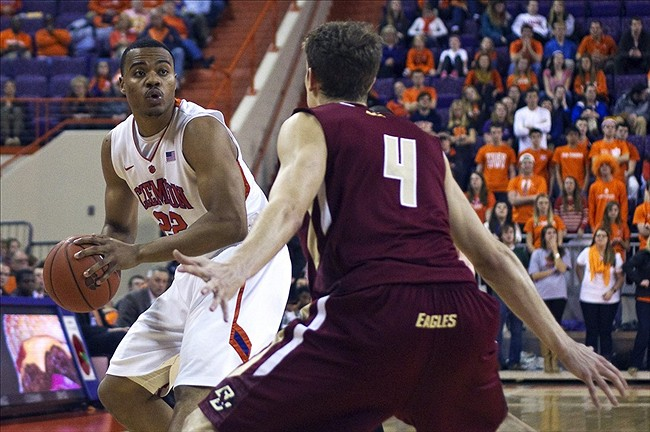 NCAA Basketball: Boston College at Clemson