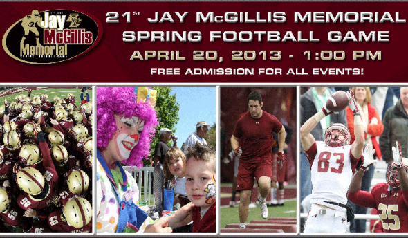BC Spring Football Game 2013